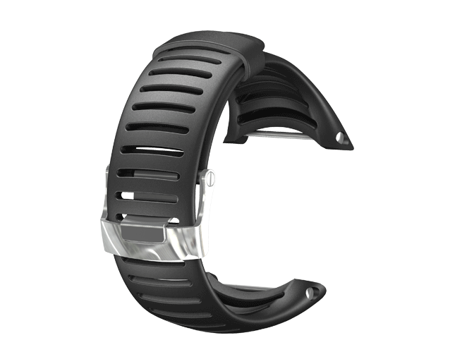 Suunto Bracelet Core élastomère noir, léger