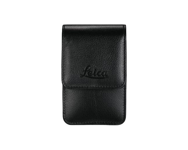 Etui Cuir pour C-Lux3-noir mat-attache ceinture-courroie epaule