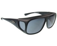 Fitovers Navigator Matte Black Grey Polarized