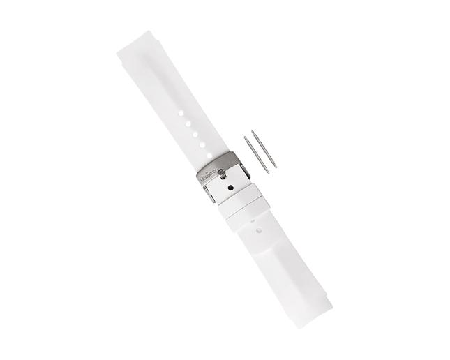 Suunto Bracelet Elementum Ventus elastomere blanc