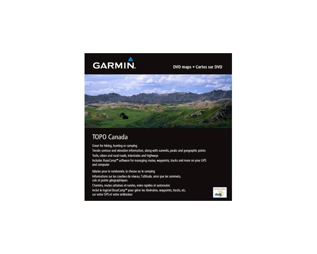 Garmin Topo Canada DVD