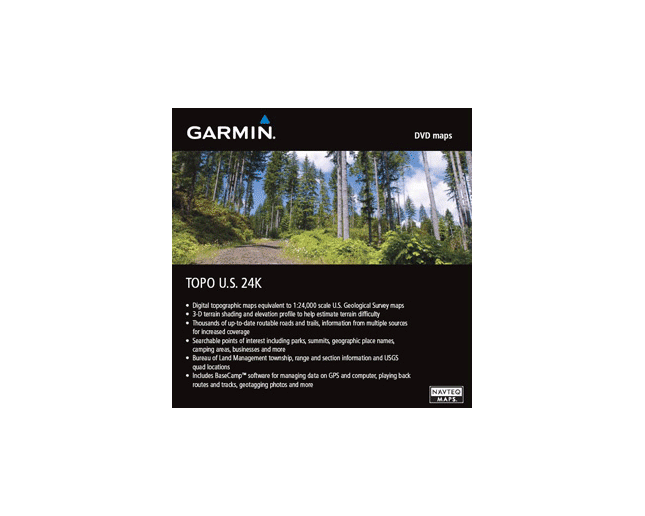 Garmin Topo U.S. 1:24000Northeast DVD