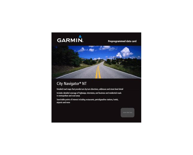 Garmin City Navigator France-Benelux SD