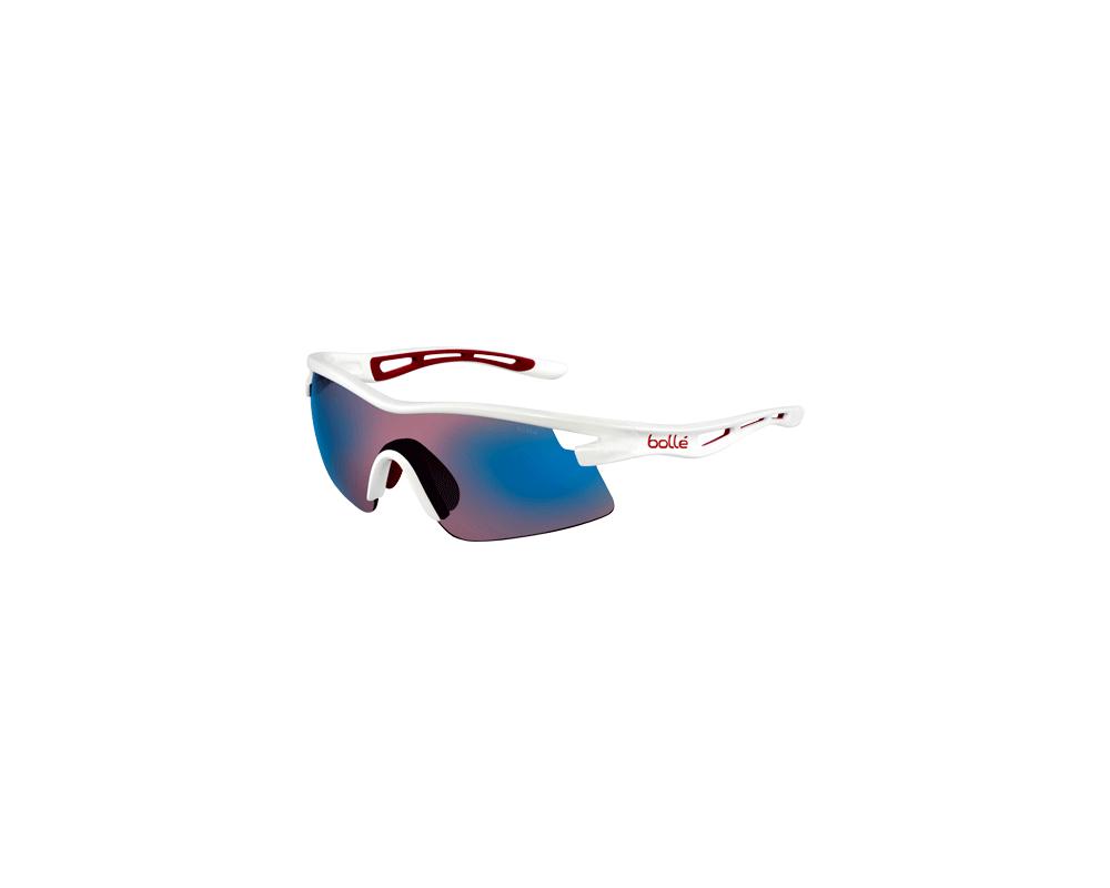 19afc66505 Bolle Vortex Shiny White Rose Blue Oleo AF - 11411 - Sunglasses - IceOptic