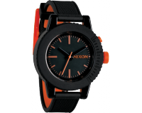 Nixon The Gogo Black/Orange
