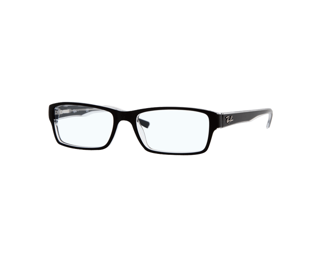 Ray-Ban RX5169 Top Black On Transparent
