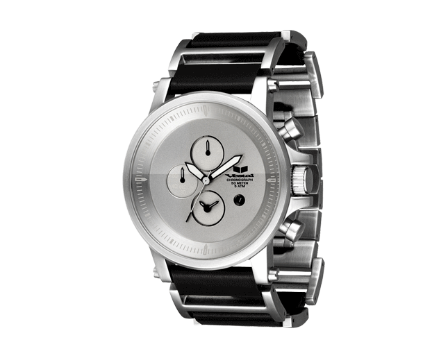 Vestal Plexi Silver/Black