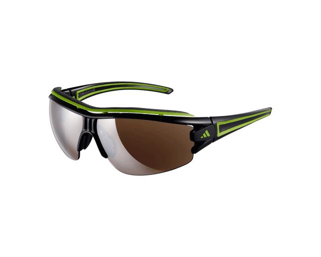 Adidas Evil Eye Halfrim Pro S Shiny Black/Green 2 écrans LST Active Silver et Bright
