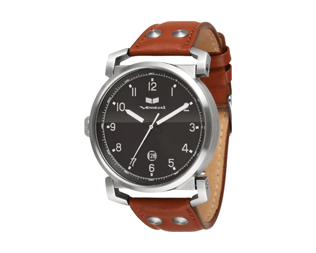 Vestal Observer Brown/Silver/Black