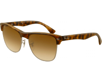 Ray-Ban Clubmaster Oversized Demi Shiny Havana/Gunmetal Crystal Brown Gradient