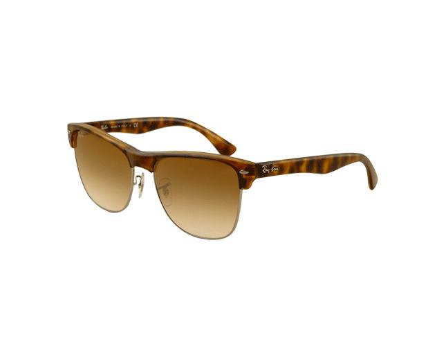 1b10c1ec5e1 Ray-Ban RB4175 Demi Shiny Havana Gunmetal Crystal Brown Gradient - RB4175  878 51 - Sunglasses - IceOptic