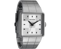 Nixon The Quatro Sanded Steel/White
