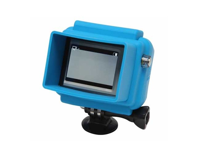 GoPro Caméra Hooded Silicon Cover Blue