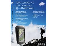 Garmin Topo Suisse V3 + Carte Raser