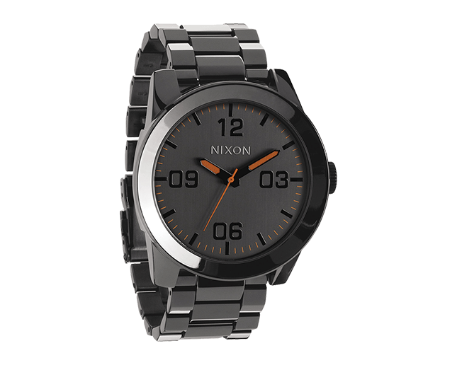 Nixon The Corporal SS Steel Gray