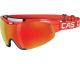 Casco Spirit Carbonic Medium Red 2 écrans Red Chrome+Grey