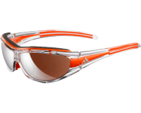 Adidas Evil Eye Pro-S Race Transparent/Orange LST Active Silver et Bright