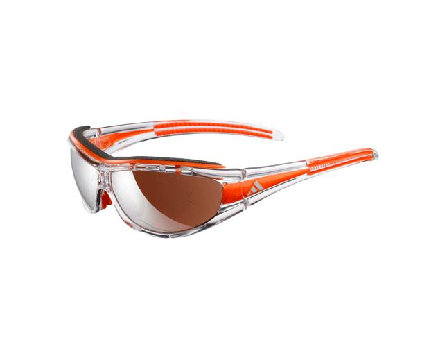 Enojado Haz lo mejor que pueda Línea de visión  Adidas Evil Eye Pro-S Race Transparent/Orange LST Active Silver et Bright -  A127 00-6080 ICE - Sunglasses - IceOptic