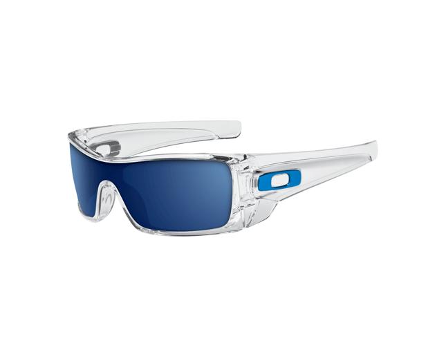 e5d40ac034 Oakley Batwolf Clear-Ice iridium - OO9101-07 ICE - Sunglasses - IceOptic