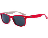 Ray-Ban New Wayfarer Junior RJ9052S Top Red Fuxia On Gray Plastic Grey