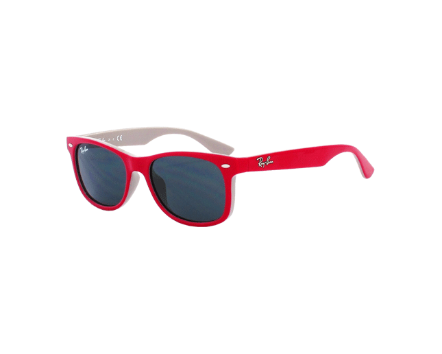 18f6a69f87 Ray-Ban RJ9052S Top Red Fuxia On Gray Plastic Grey - RJ9052S 177 87 -  Sunglasses - IceOptic