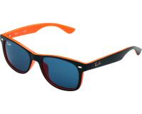 Ray-Ban New Wayfarer Junior RJ9052S Top Blue On Orange Plastic Blue