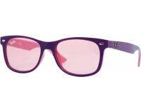 Ray-Ban New Wayfarer Junior RJ9052S Top Violet On Pink Plastic Pink