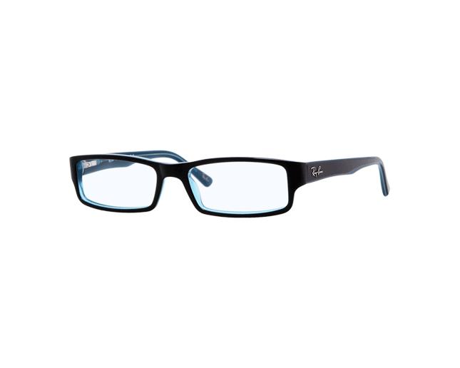 f840acd480 Ray-Ban RX5246 Black Azure Turquoise - RX5246 5092 o - Eyeglasses - IceOptic