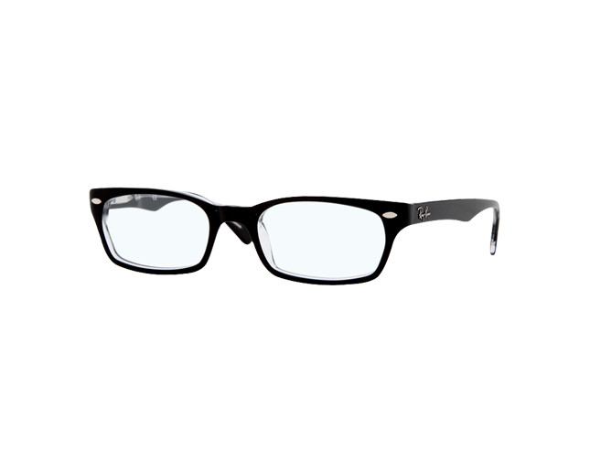 Ray-Ban RX5150 Top Black On Transparent
