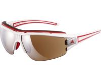 Adidas Evil Eye Halfrim Pro L Shiny White/Red 2 écrans LST Active Silver et Bright