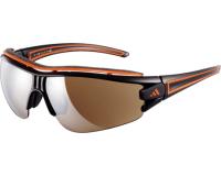 Adidas Evil Eye Halfrim Pro L Shiny Black/Orange 2 écrans LST Active Silver et Bright