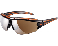 Adidas Evil Eye Halfrim Pro S Shiny Black/Orange 2 écrans LST Active Silver et Bright