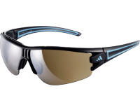 Adidas Evil Eye Halfrim S Shiny Black/Blue LST Contrast Silver