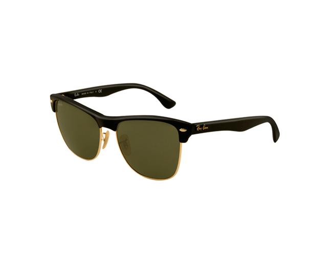 f3df085ffb5 Ray-Ban RB4175 Demi Shiny Black Arista Crystal Green - RB4175 877 -  Sunglasses - IceOptic
