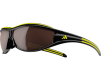 Adidas Evil Eye Pro S Black/Yellow LST Polarized Silver et Bright