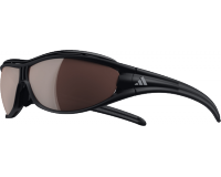 Adidas Evil Eye Pro L Matt Black LST Polarized Silver et Bright