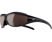 Adidas Evil Eye Pro S Shiny Black LST Polarized Silver et Bright