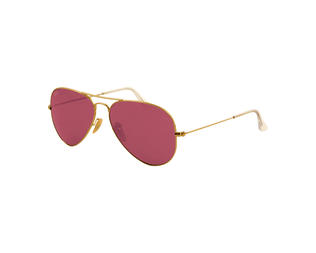 d8ff622e90d Ray-Ban Aviator Gold Crystal Polar Pink - RB3025 001 15 - Sunglasses -  IceOptic