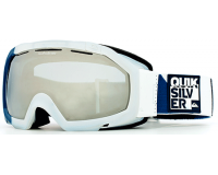 Quiksilver Masque de Ski Facet Orbicular Navy Orange Chrome