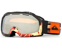 Quiksilver Masque de Ski Facet Orbicular FBLK Orange Chrome