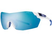 Smith Pivlock V2 Max Matte Clear Blue Mirror