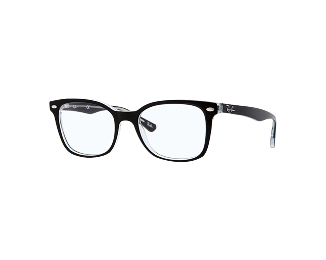 Ray-Ban RX5285 Top Black On Transparent