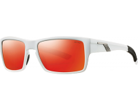 Smith Outlier Matte White Red Sol-X
