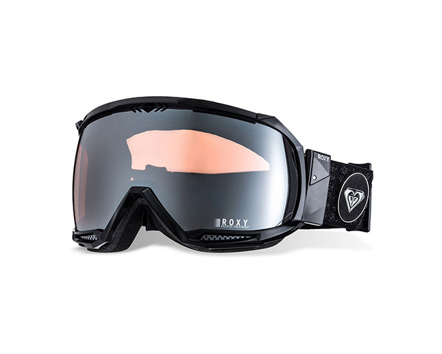 Roxy Masque de Ski Isis Black Grey Flash Silver