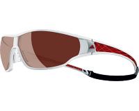 Adidas Tycane Pro S Shiny White/Red LST Polarized Silver H+