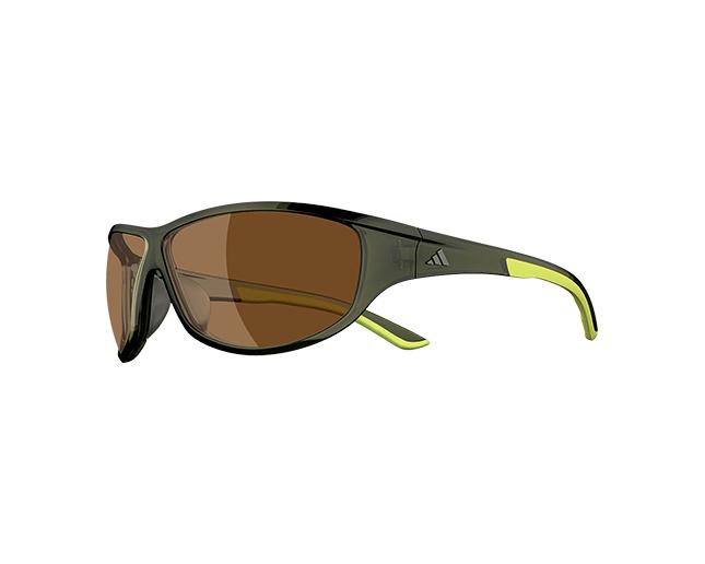 60c506243c8f Adidas Daroga Green Transparent/Lime LST Contrast Silver - A416/00 6050 ICE  - Sunglasses - IceOptic