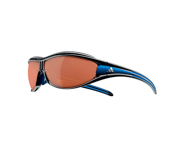 Prestigio Abuelo dulce  Adidas Evil Eye Pro L Race Black/Blue LST Active Silver et Bright - A126  00-6111 ICE - Sunglasses - IceOptic