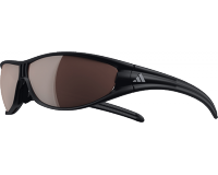 Adidas Evil Eye Large Matte Black LST Polarized Silver