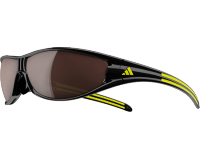 Adidas Evil Eye Large Black/Yellow LST Polarized Silver