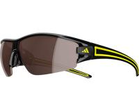 Adidas Evil Eye Halfrim L Black/Yellow LST Polarized Silver